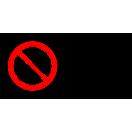 P006 - Nepovolaným vstup zakázaný - Vodorovná nálepka s doplnkovým textom