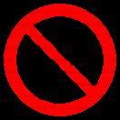 P016 - Zákaz vstupu osobám s implantátom z kovu - Okrúhla nálepka bez textu