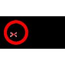 P036 - Zákaz vstupu pod zodvihnuté bremeno - Vodorovná nálepka s doplnkovým textom