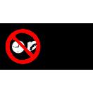 P043 - Zákaz nosenia hodiniek a šperkov - Vodorovná nálepka s doplnkovým textom